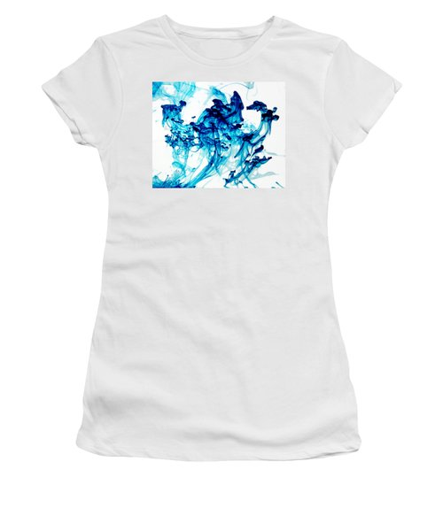 Blue Chaos Women's T-Shirt (Athletic Fit)
