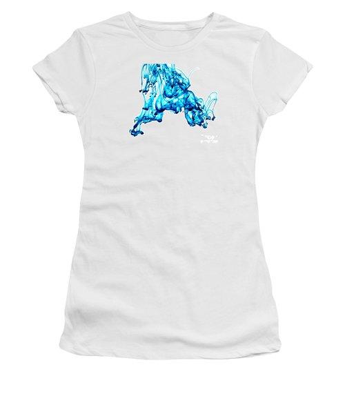 Blue Descent Women's T-Shirt (Junior Cut)