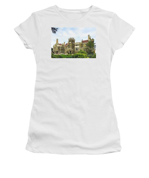 Casa Loma In Toronto Women's T-Shirt (Athletic Fit)