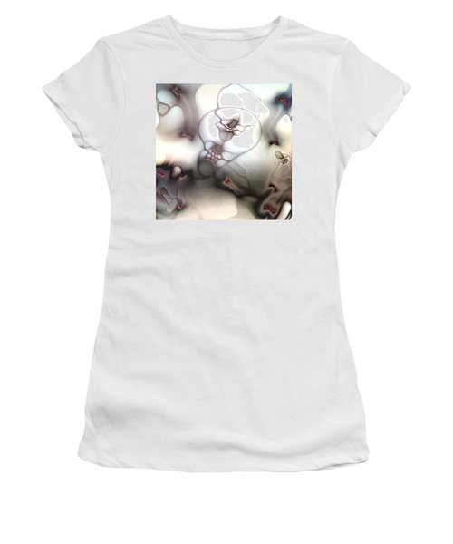Women's T-Shirt (Junior Cut) featuring the digital art Ceaseless Vicissitude by Casey Kotas