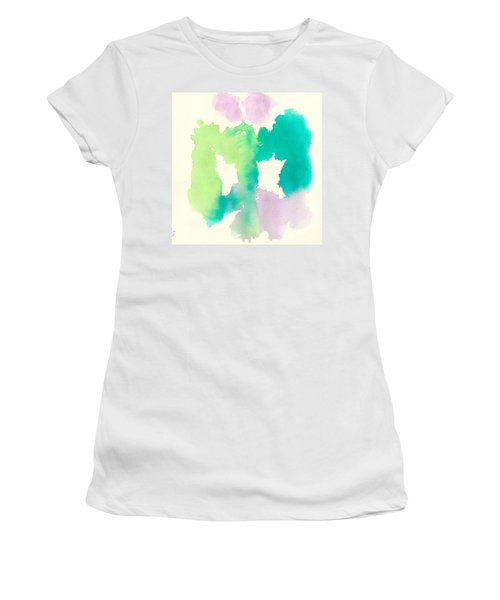 Women's T-Shirt (Junior Cut) featuring the painting Cocoon by Frank Bright