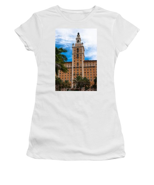 Coral Gables Biltmore Hotel Women's T-Shirt (Athletic Fit)