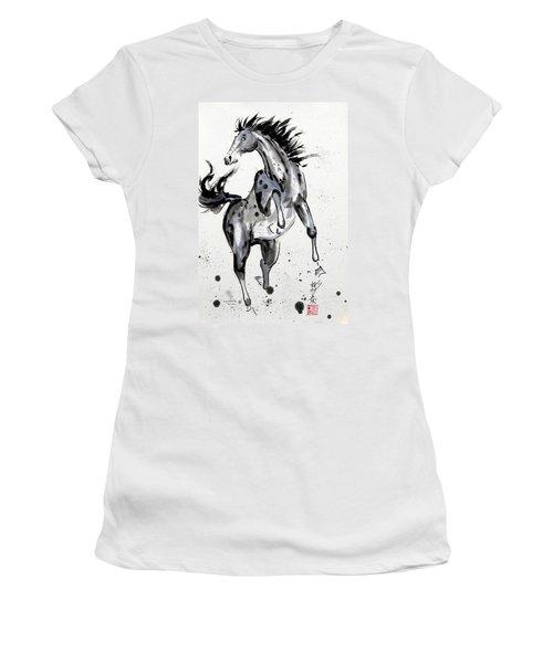 Exuberance Women's T-Shirt (Junior Cut) by Bill Searle