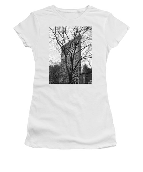 Flat Iron Tree Women's T-Shirt (Athletic Fit)