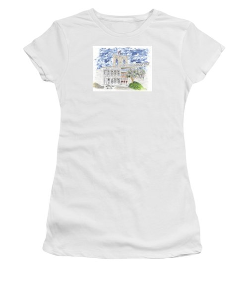 1 Front Street In Brooklyn Women's T-Shirt (Athletic Fit)