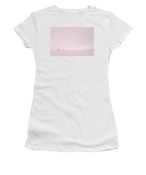 Glacier Geology Phd Student Skis Women's T-Shirt
