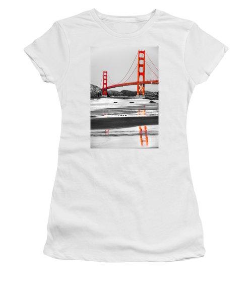 Golden Gate - San Francisco - California - Usa Women's T-Shirt (Athletic Fit)