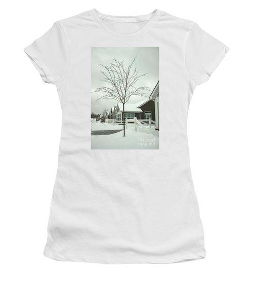 Hello Snow Women's T-Shirt