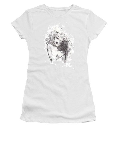 Just Me Women's T-Shirt (Junior Cut) by Laurie L