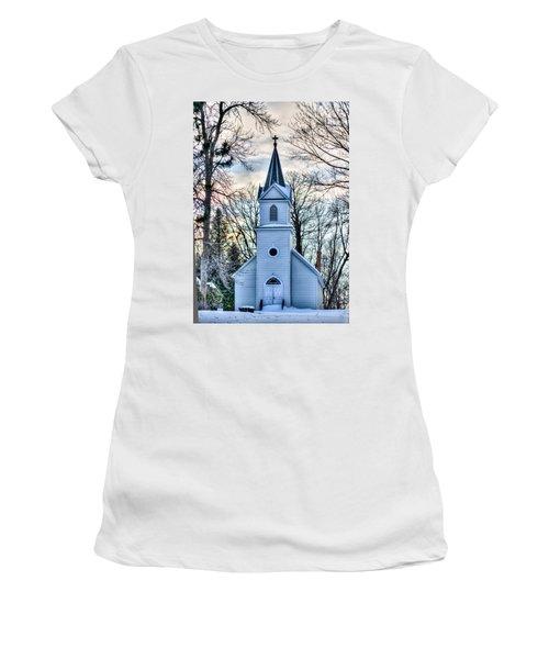 Maria Chapel Women's T-Shirt (Junior Cut) by Paul Freidlund