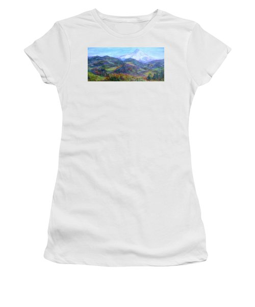 Mountain Patchwork Women's T-Shirt