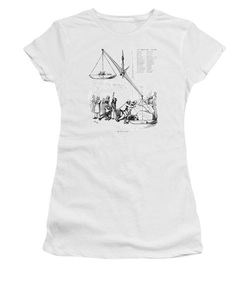 Nast Election, 1876 Women's T-Shirt