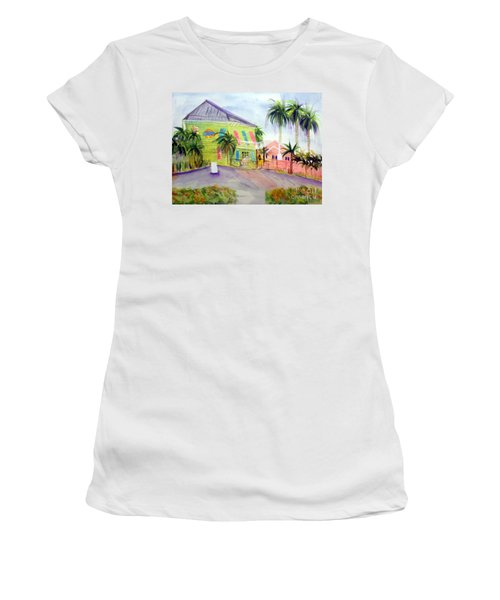 Old Key Lime House Women's T-Shirt (Athletic Fit)