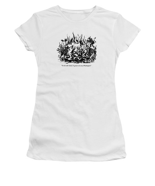 On The Other Hand Women's T-Shirt