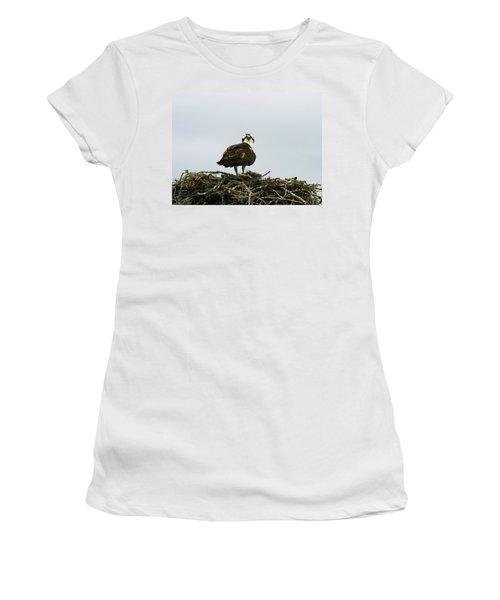 Osprey Nesting Women's T-Shirt