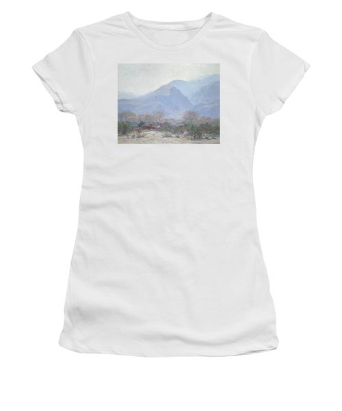 Palm Springs Landscape With Shack Women's T-Shirt
