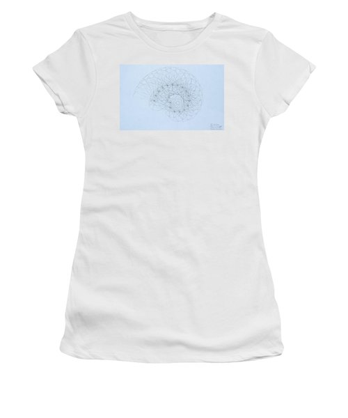 Quantum Nautilus Women's T-Shirt (Athletic Fit)