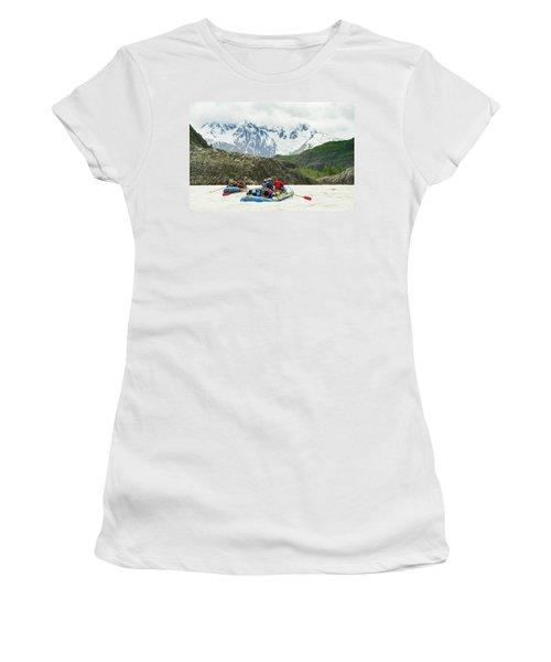 Rafters On The Alsek River Women's T-Shirt