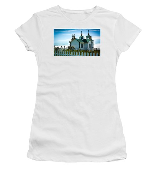 Russian Orthodox Church Women's T-Shirt (Athletic Fit)