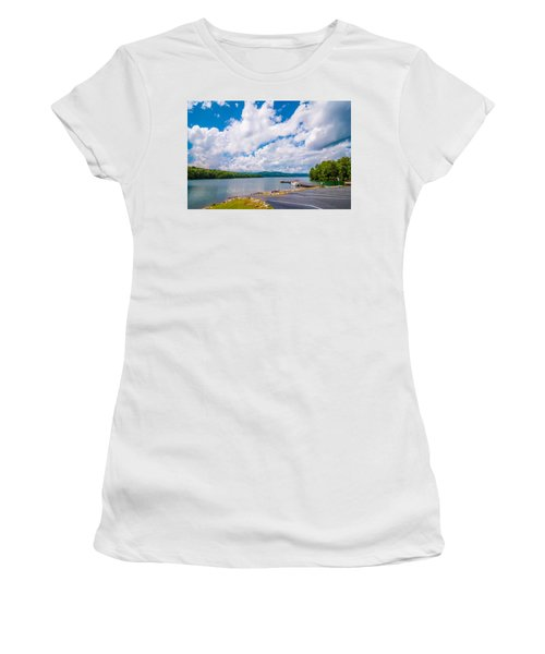 Scenery Around Lake Jocasse Gorge Women's T-Shirt (Athletic Fit)