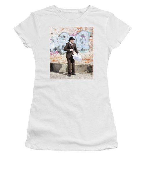 Sniggering Salesman Women's T-Shirt