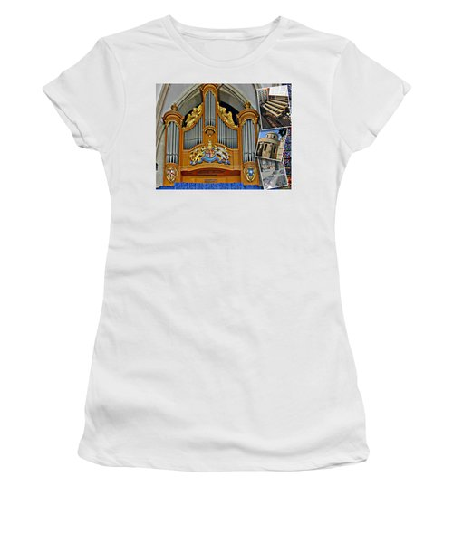 Temple Church London Women's T-Shirt (Athletic Fit)