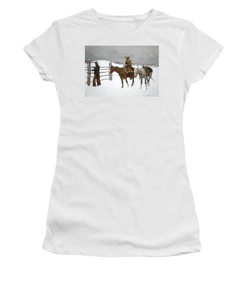 The Fall Of The Cowboy Women's T-Shirt