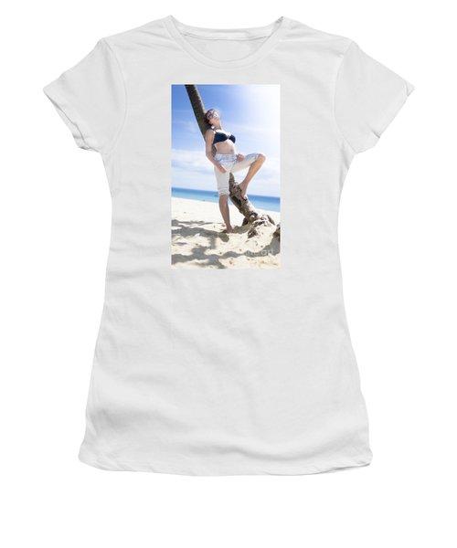 Tropical Island Paradise Women's T-Shirt