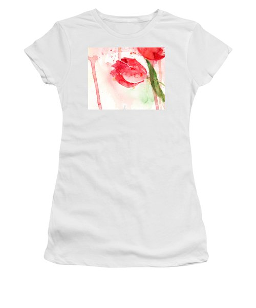 Tulip Flower Women's T-Shirt (Athletic Fit)