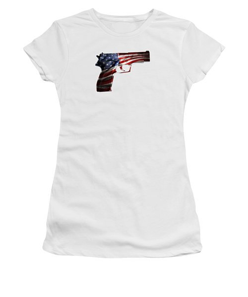 Usa Gun 1 Women's T-Shirt