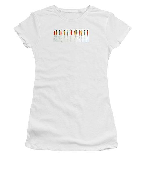 Vibrant Masai Warriors - Original Artwork Women's T-Shirt