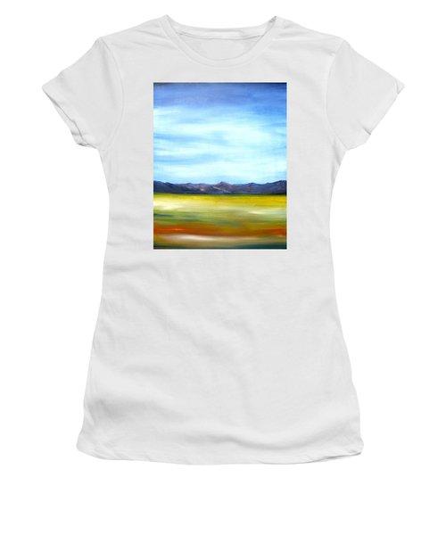 West Texas Landscape Women's T-Shirt (Athletic Fit)