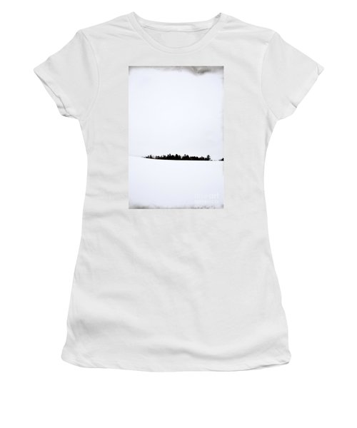 Winter Minimalism Women's T-Shirt