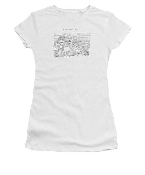 The Participatory Blues Women's T-Shirt