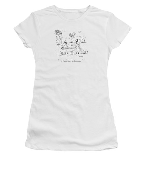 Quit Worrying About Corroborating Your Sources - Women's T-Shirt