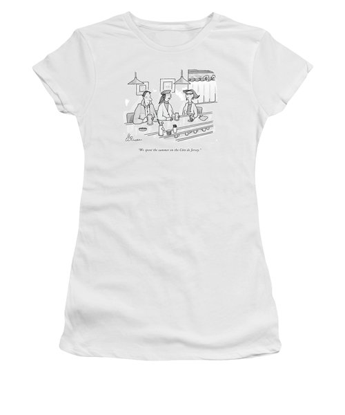 We Spent The Summer On The Cote De Jersey Women's T-Shirt