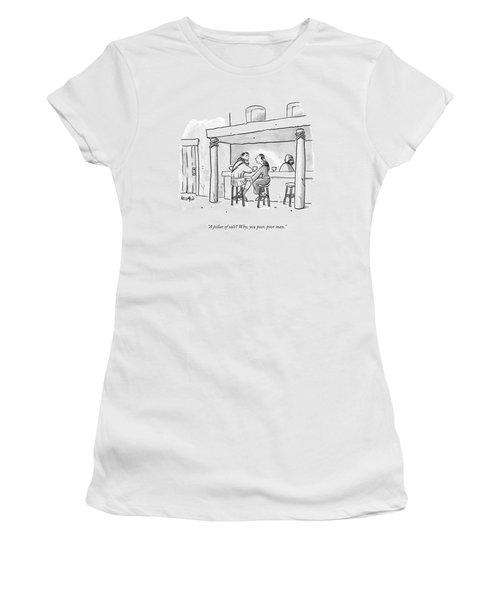 A Pillar Of Salt? Why Women's T-Shirt