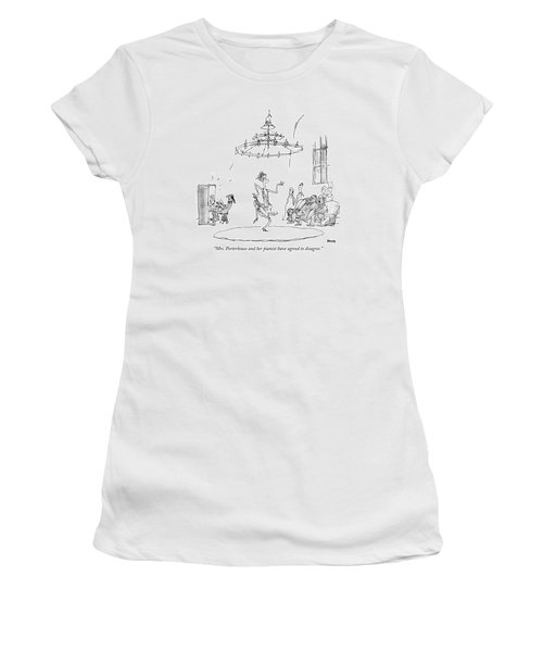 Mrs. Porterhouse And Her Pianist Have Agreed Women's T-Shirt
