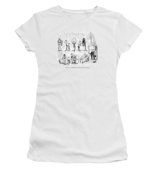 And This Is Our Department Of Experimental Women's T-Shirt