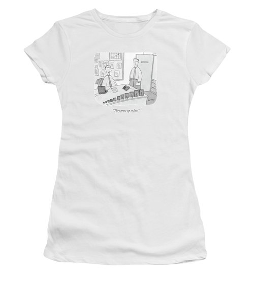 They Grow Up So Fast Women's T-Shirt