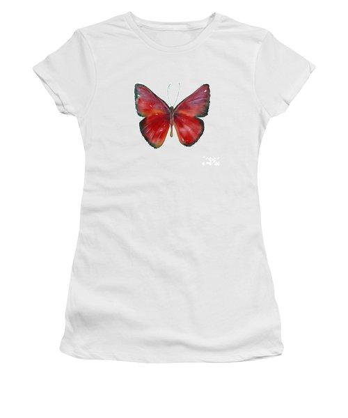 16 Mesene Rubella Butterfly Women's T-Shirt