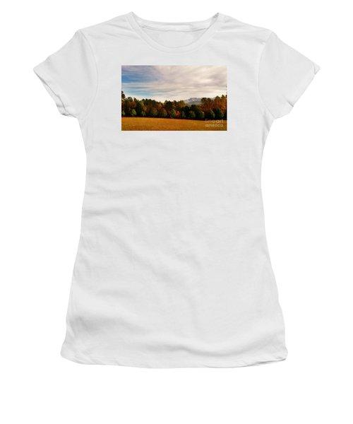 Cades Cove Women's T-Shirt (Athletic Fit)