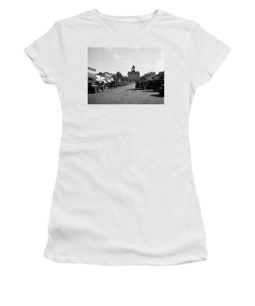 1920s 1928 View Of Cottonwood Falls Women's T-Shirt