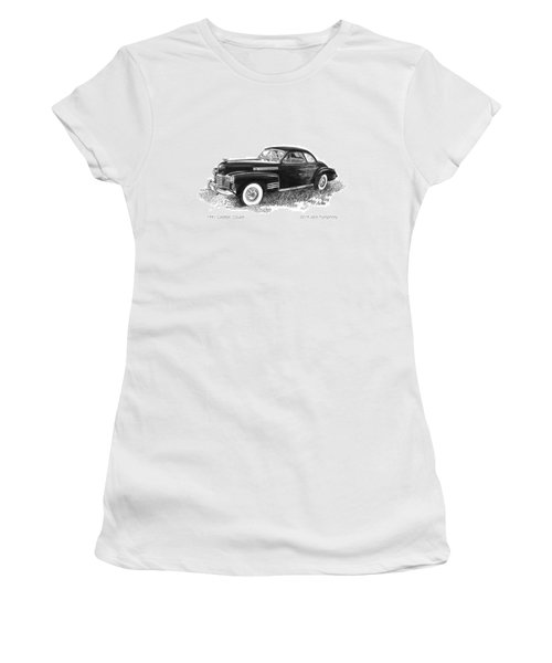 1941 Cadillac 62 Coupe Women's T-Shirt
