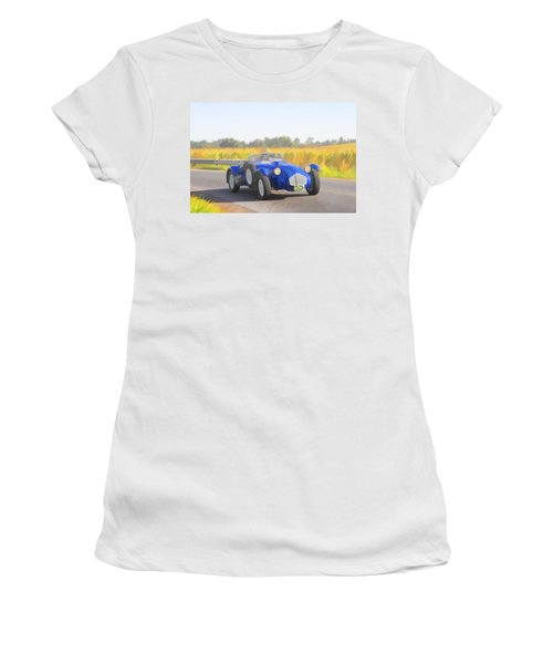 1953 Allard J2x Roadster Women's T-Shirt (Athletic Fit)