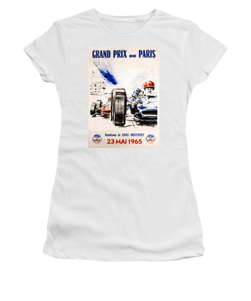 1965 Grand Prix De Paris Women's T-Shirt
