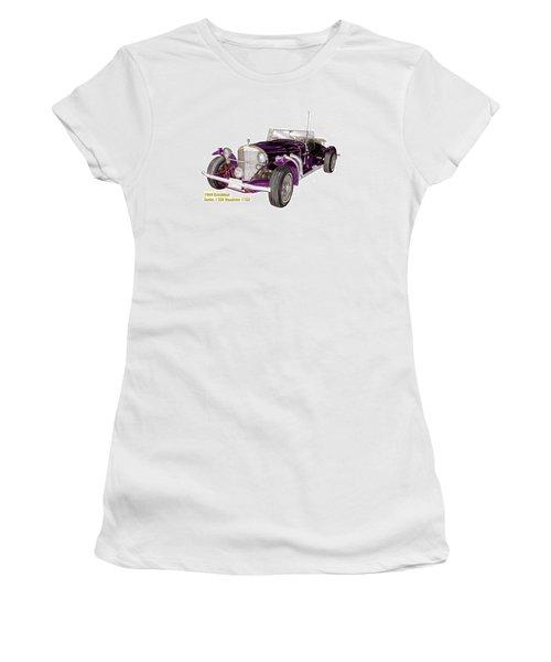 1969 Excalibur Ss Roadster Women's T-Shirt