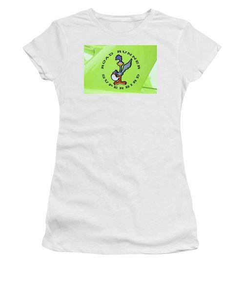 1970 Plymouth Superbird Roadrunner Women's T-Shirt (Athletic Fit)