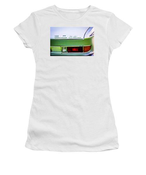 1973 Bmw 3.0 Csl Side Taillight Emblem -1298c Women's T-Shirt