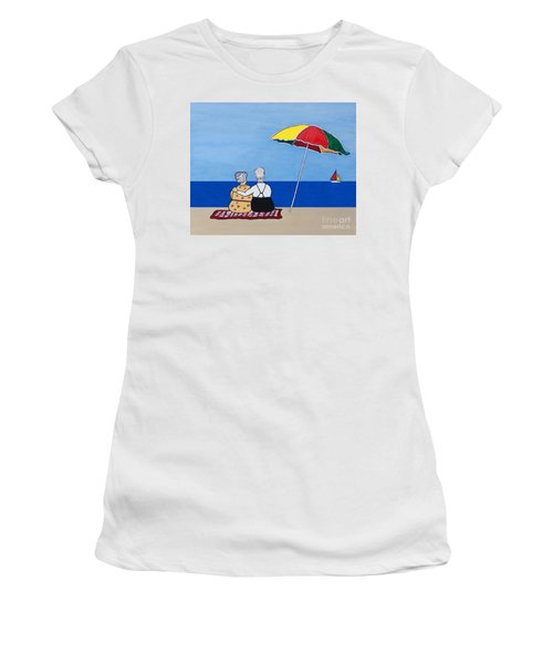 Always Together Women's T-Shirt (Junior Cut) by Barbara McMahon
